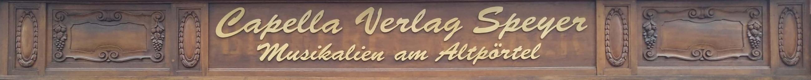 Capella Verlag Speyer